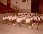 Band day performance, Williston, N.D.