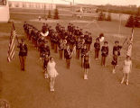 Grenora High School band, N.D.