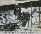 Thomas S. Baldwin in the Baldwin Airplane, Manilla, Philippines