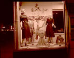 J.B. Lyon Womens Wear window display, Williston, N.D.
