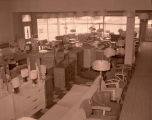 Hanson Furniture interior, Williston, N.D.