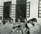 WWII G.I.s at Chinese party, China