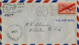 John Floyd Shemorry letter to grandparents envelope