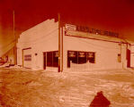 Lee Tire Service and Carter Oil, Williston, N.D.