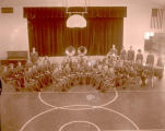 Williston Grade band in Central School, Williston, N.D.