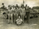 William E. (Bill) Shemorry and WWII troops in China