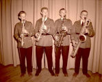 Williston High School saxophone quartet, N.D.