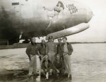 WWII personnel with airplane