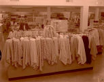 J.C. Penney store merchandise display grand opening, Williston, N.D.