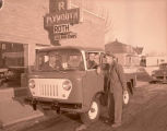Roth Motor and new Ford Control Jeep, Williston, N.D.