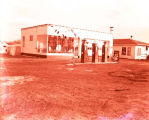 Standard Oil Service Station, Williston, N.D.