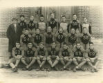 Williston Coyotes 1935 football team portrait