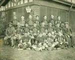 Williston Coyotes 1931 football team portrait
