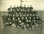 Williston Coyotes 1921 football team portrait