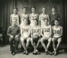 Williston Coyotes basketball team portrait