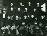 Williston Coyotes 1923 football team portrait