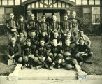 Williston Coyotes 1928 football team portrait