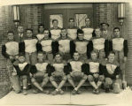 Williston Coyotes 1934 football team portrait