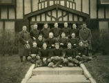 Williston Coyotes 1925 football team portrait