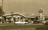 Amoco Standard oil station and car wash, N.D.