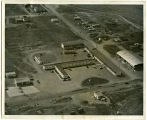 Aerial view of El Rancho motel, Williston, N.D.
