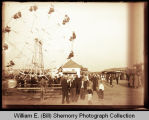 Carnival, possibly State Fair in Minot, N.D.