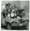 Lori Youpee, First Attendant in Oil Discovery Celebration parade float