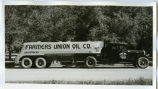 Farmers Union Oil Company semi truck, Williston, N.D.