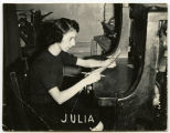 Farmers Press Staff, Julia, Williston, N.D.