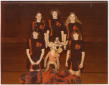 WHS Coyote cheerleaders, Williston, N.D.