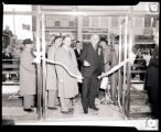 Ribbon cutting, American State Bank opening, Williston, N.D.