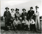 Rough Riders, old cowboys at Alexander, N.D.