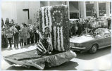 Parade, Betsy Ross float, Williston, N.D.