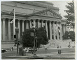 National Archives building exterior, Washington D.C.