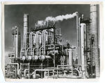 Hydrogenation unit at oil refinery