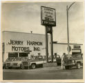 Exterior of Jerry Harmon Motors Inc., Williston, N.D.