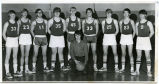 Alamo boys basketball team portrait, Alamo, N.D.