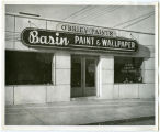 O'Brien Paints, Basin Paint & Wallpaper exterior, N.D.