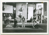 Whole cast in theatrical production, N.D.