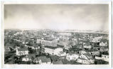 Aerial view overlooking Williston, N.D.
