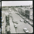View looking down on Main Street, Williston, N.D.