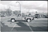 Williston fire department parade, Williston, N.D.