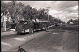 Williston fire department parade, Williston, N.D