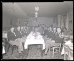 Veterans at a banquet, N.D.