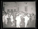 People dancing indoors