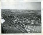Aerial view of Williston, N.D.