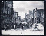 Destruction from Japanese bombs, China