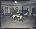 Interior of James Memorial Library, Williston, N.D.