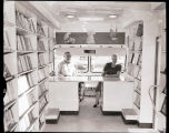 Interior of the West Plains Library Book Mobile, N.D.