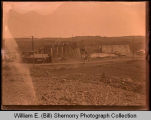 Bridge construction, Northwest Williston, N.D.